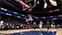 Баскетболист радуется забитому очку сам с собой