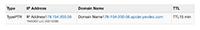 Обратный просмотр DNS по IP YandexBot