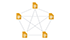 Звезда - схема перелинковки